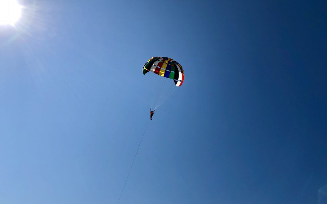 My First Parasailing Adventure in Puerto Vallarta, Mexico