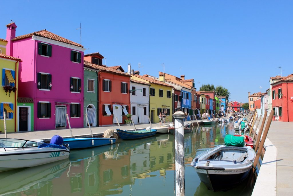 The island of Burano - Passports and Spice