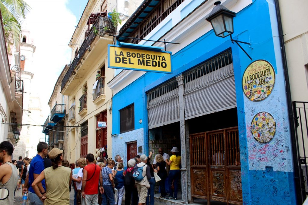 La Bodeguita del Medio in Old Havana was a favorite hangout place of Ernest Hemingway in Cuba - Passports and Spice