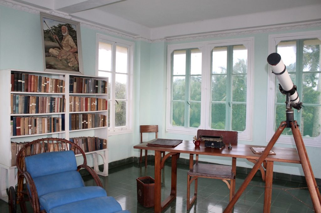 Tower room at Finca Vigia, Hemingway's property in Cuba - Passports and Spice