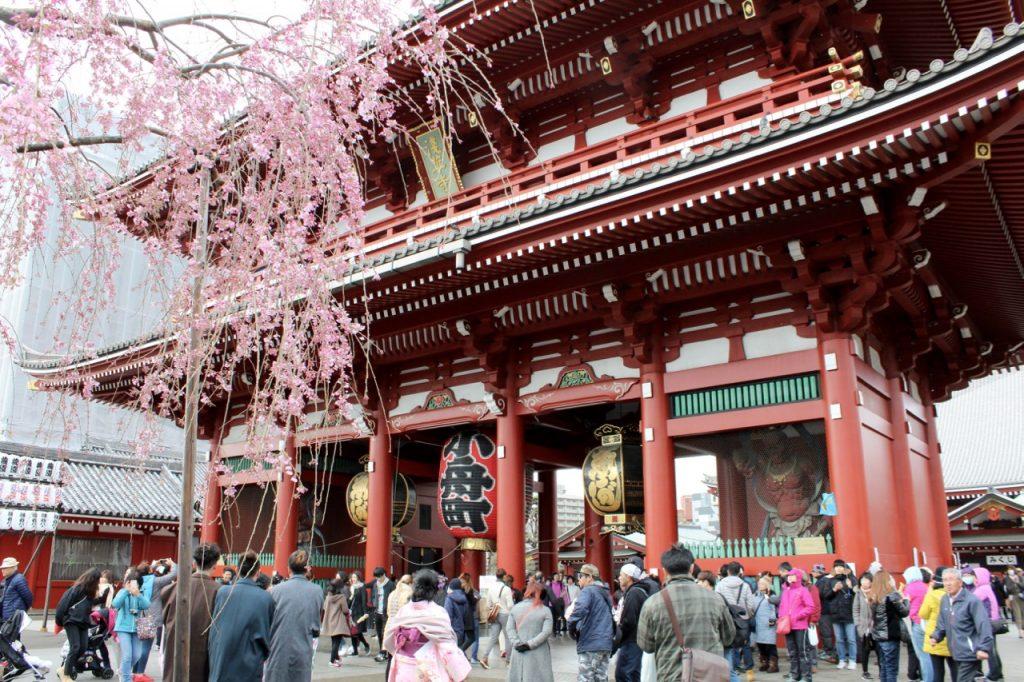 Sensoi Temple in Tokyo - Passports and Spice