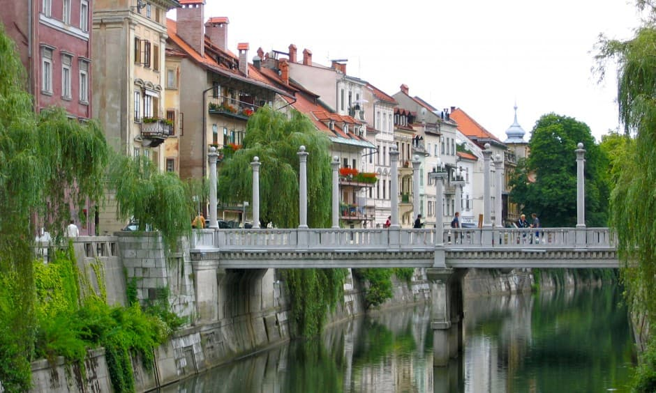 Ljubljana, the capital of Slovenia - Passports and Spice