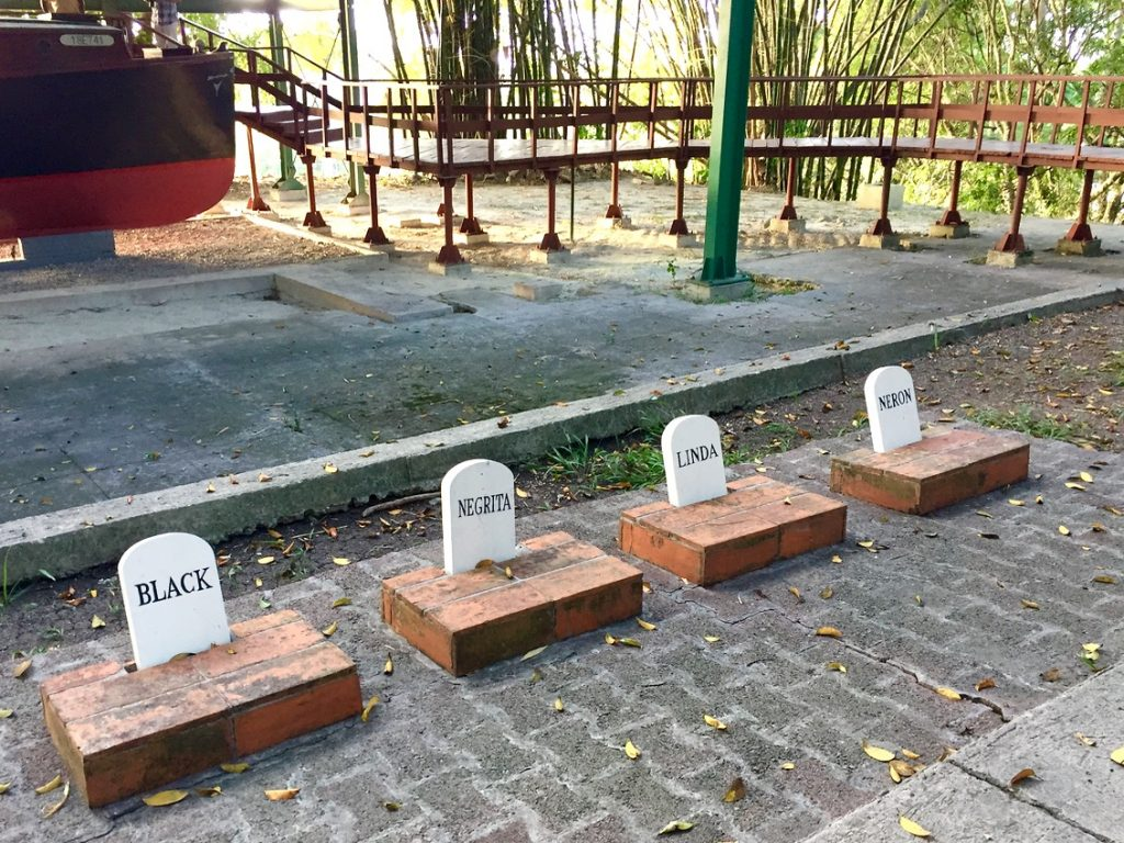 The pet cemetery at Hemingway's property, Finca Vigia - Passports and Spice