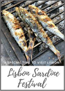 Lisbon Sardine Festival - Passports and Spice