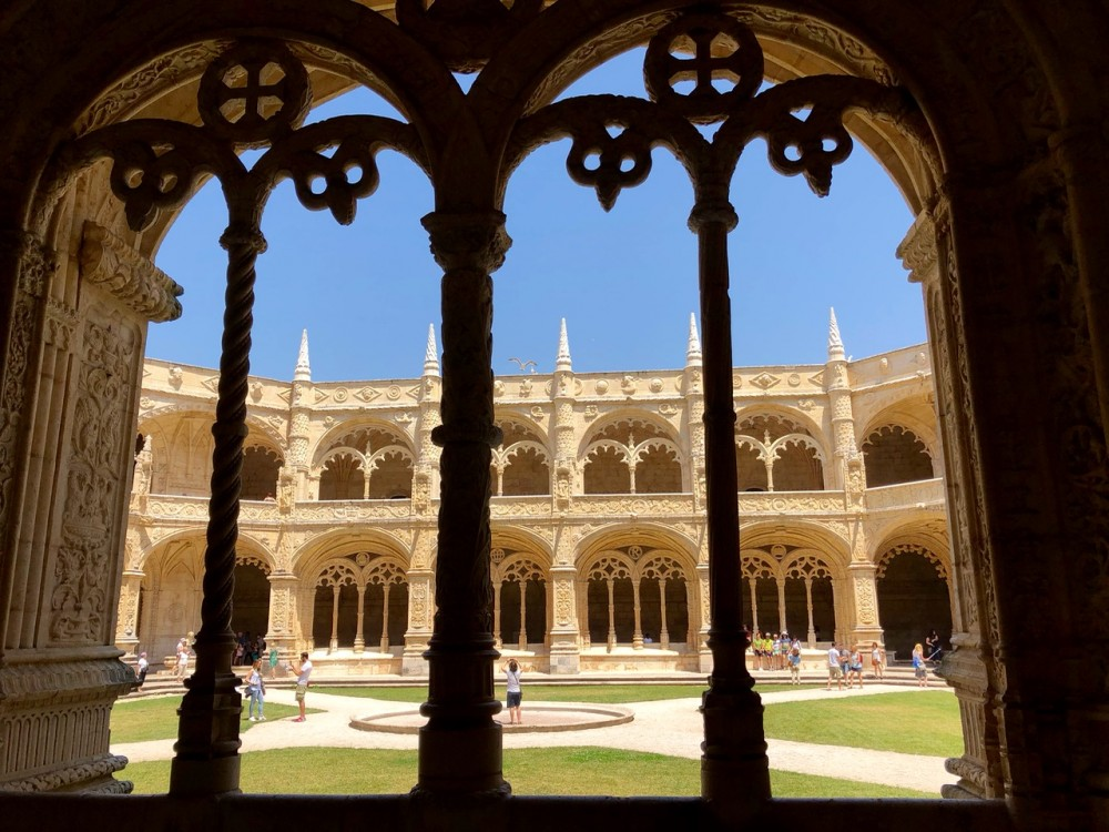 Jeronimo's Monastery in Belem is the #1 attraction in Lisbon - Passports and Spice