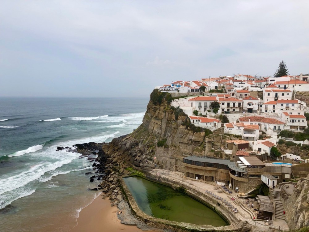 Azenhas do Mar is one of the most picturesque seaside towns in Portugal - Passports and Spice