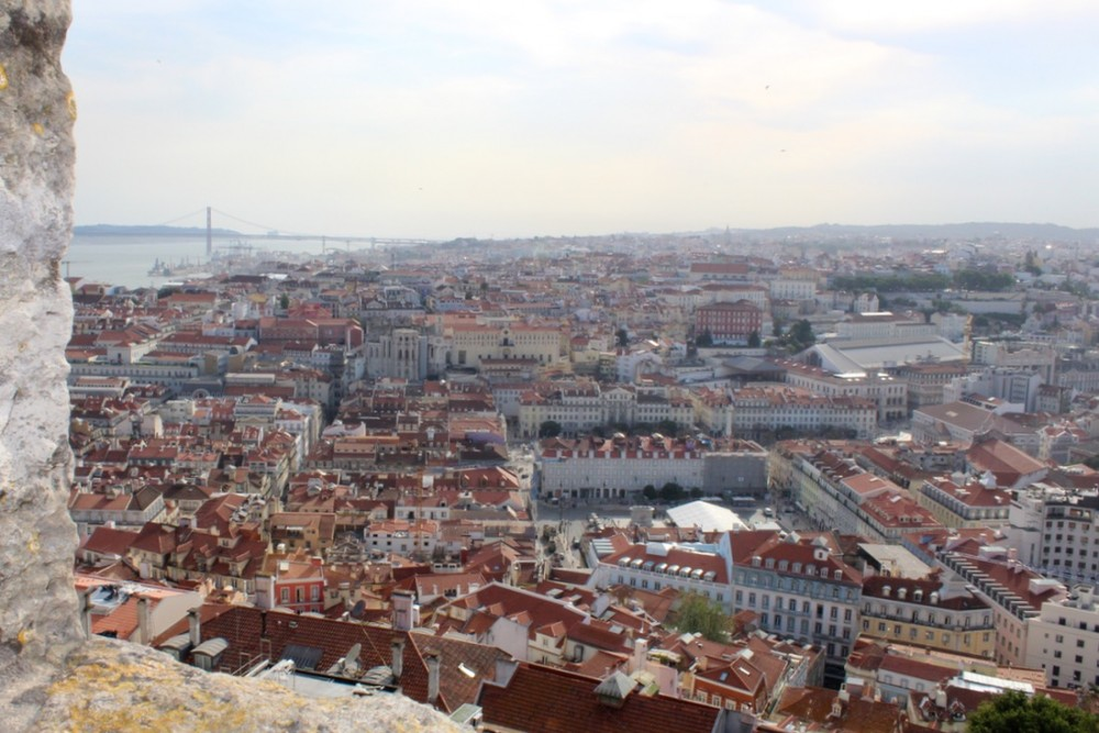 View of Lisbon from the São Jorge Castle - Passports and Spice