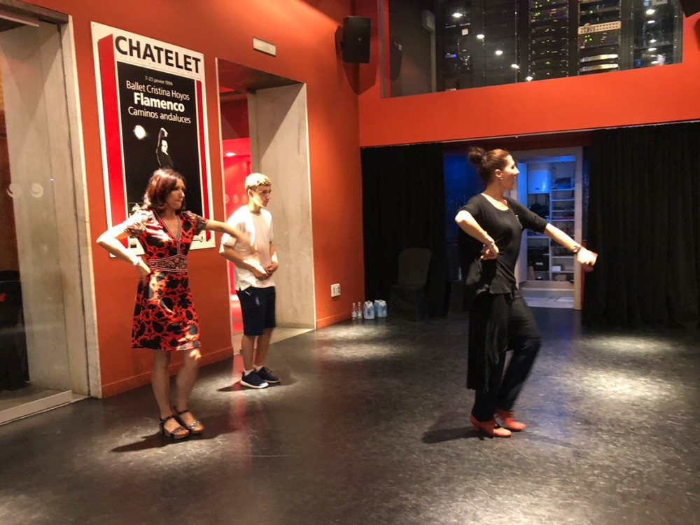 Our flamenco class in Spain- Passports and Spice